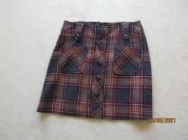 Hallhuber Miniskirt brown cotton