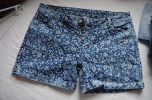 Hallhuber Shorts mit Blumenprint