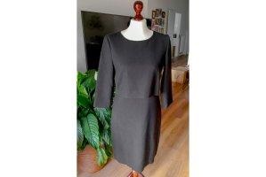 Hallhuber Sheath Dress black mixture fibre