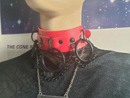 Halsband Choker 3 O-Ring Gothic Punk Nugoth Bondage Rave dollskill trend 90s