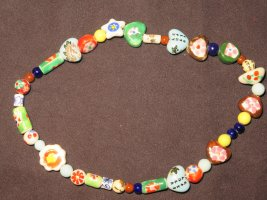 Halsband Keramik