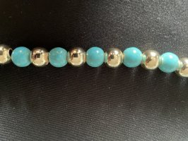 Collana azzurro-oro