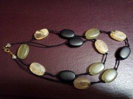 Statement Necklace multicolored glas