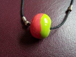 Collier multicolore verre