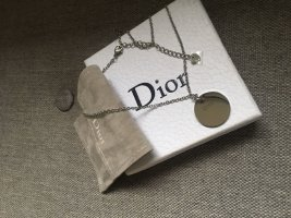 Dior Necklace silver-colored