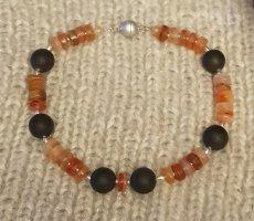 Collier Necklace black-dark orange