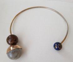 Halsreif mit 3 Perlen