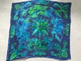 Pañoleta verde-azul