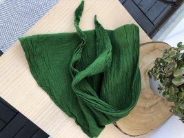 Halstuch Bandana 145x45 cm Baumwolle grün