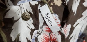 QS by s.Oliver Summer Scarf brown
