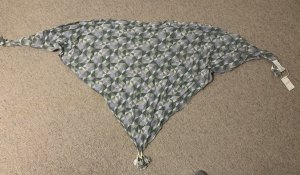 Opus Neckerchief purple-green grey
