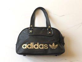 Hammer Adidas Originals Retro Tasche schwarz Gold Logo