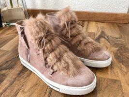 Hammerstein Sneaker stringata rosa-rosa pallido