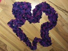 handmade Écharpe en crochet multicolore tissu mixte