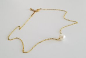 handmade Gold Chain white-gold-colored