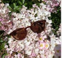 Handgesägte Hornbrille