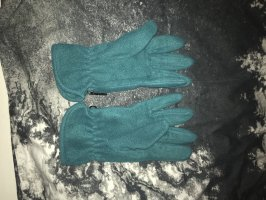 C&A Guantes de forro polar azul cadete