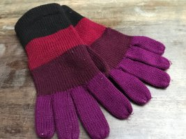 H&M Gants en tricot multicolore