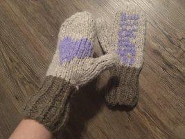 Handschuhe Fäustlinge in taupe flieder von Esprit