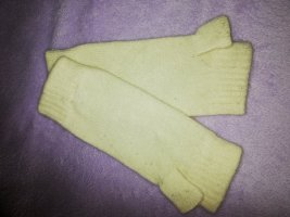Fingerless Gloves natural white