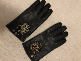 H&M Faux Leather Gloves multicolored