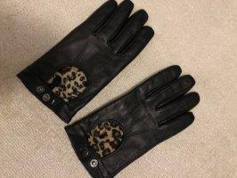 H&M Handschoenen van imitatieleder veelkleurig