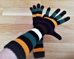 Pieces Gebreide handschoenen veelkleurig