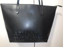 Armani Exchange Sac porté épaule noir