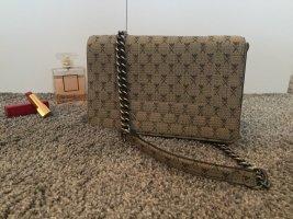 H&M Bolso con correa beige-marrón grisáceo