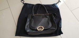 Handtasche Armani Jeans schwarz Gold