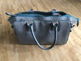 Handtasche aus Leder, Tchibo, NEU!