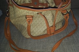 Handbag brown-beige