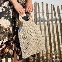 Handtasche beige NEU