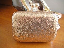 Minibolso color bronce-color oro