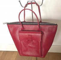 Carry Bag brick red leather