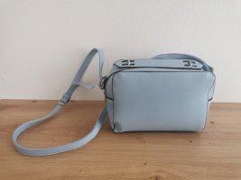 Handtasche hellblau Umhängetasche Blogger
