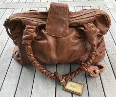 Handtasche Hugo Boss Leder cognacfarben neuwertig