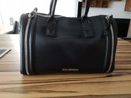 Handtasche Karl Zip Medium Bauletto Black III