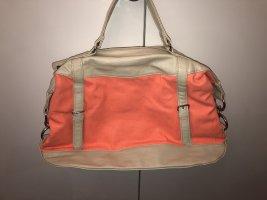 Handtasche Lachs neon