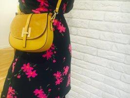 Borse in Pelle Italy Crossbody bag neon yellow leather
