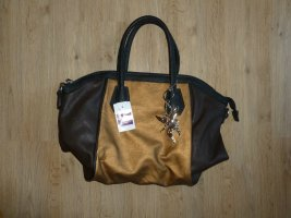 Handtasche liberty schwarz braun Neu
