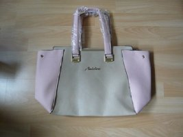 Aniston Handbag pink-nude imitation leather