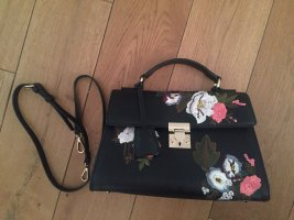 Handtasche mit Stickerei/ Neu