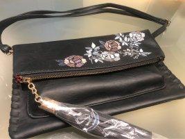 Handtasche mit Stickerei , neu