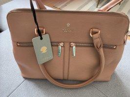 Handtasche, Modalu, Pippa Dusky Pink Classic Grab, Neu