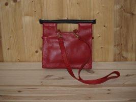 Handtasche rot/schwarz