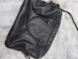 Handtasche schwarz leder