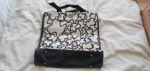 Handtasche schwarz weiß