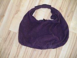 Canvas Bag dark violet