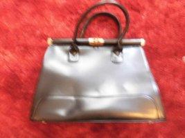 Handtasche Tasche Shopper Bag schwarz Lederoptik
